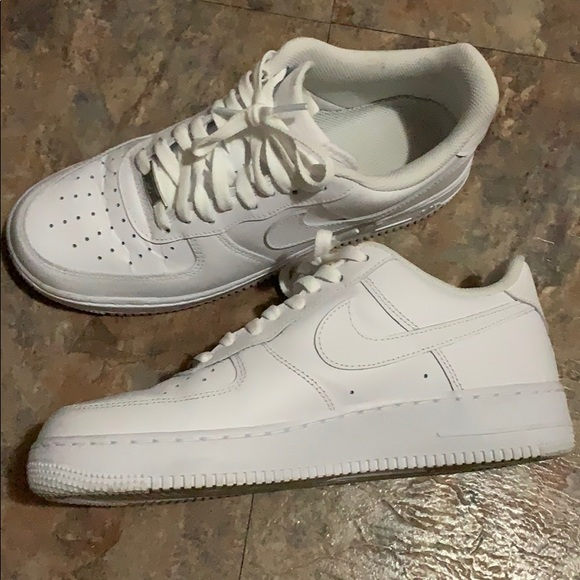 Nike Shoes | White Air Force High Tops